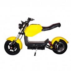 Электроскутер ElectroTown Citycoco Bike - желтый