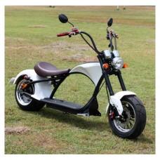 Электроскутер Citycoco Harley Chopper 2000W - белый